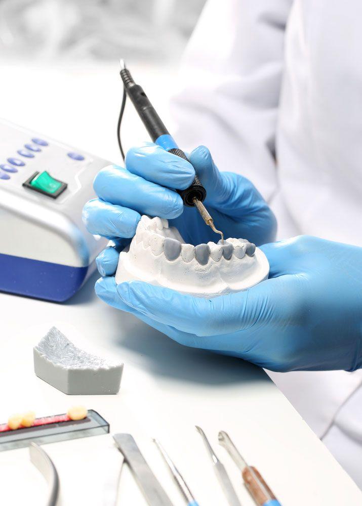 Construcción de una prótesis dental